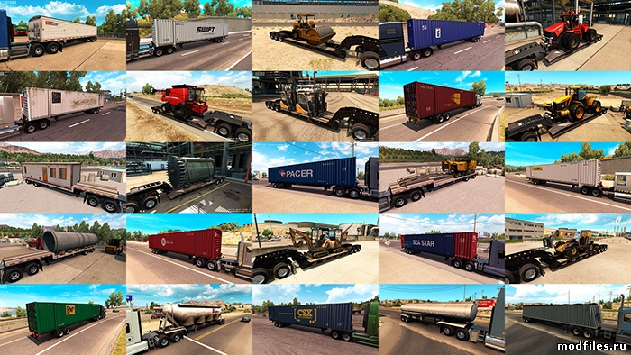 Trailers and cargo pack / Jazzycat