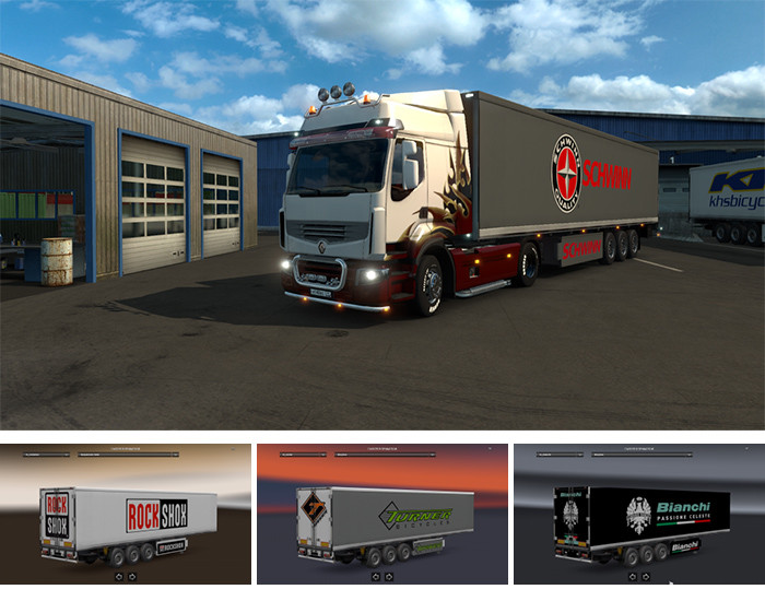 Мод «Bicycle and Parts» [1.0 tupatups] — Euro Truck 2