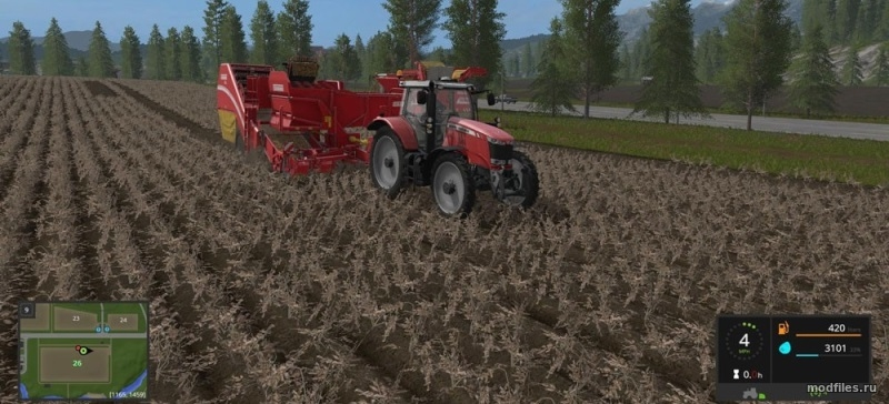 Картинка мода Grimme SE260 with Halum Separation / Russ в игре Farming Simulator 2017
