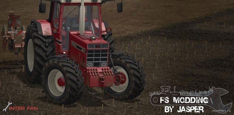 Мод CASE International 1455 XL | 1.1 Jasper | Farming Simulator 2017