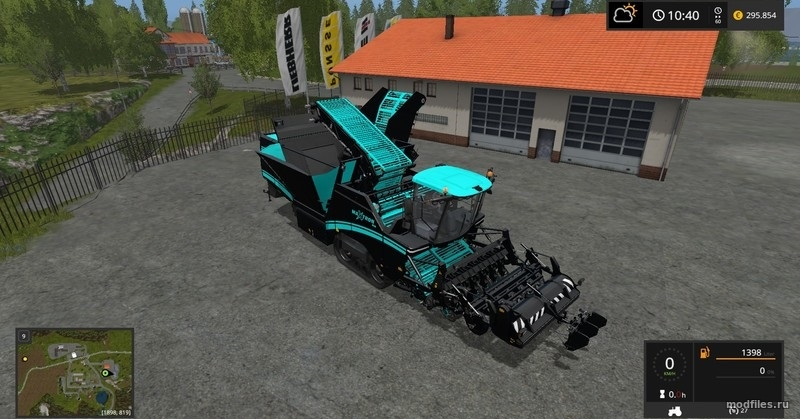 Мод Grimme Maxtron 620 | 1.2 lookee86 | Farming Simulator 2017