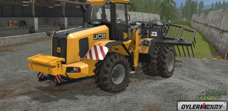 Мод JCB 435S back weight | 1.0 Oylerhenry | Farming Simulator 2017