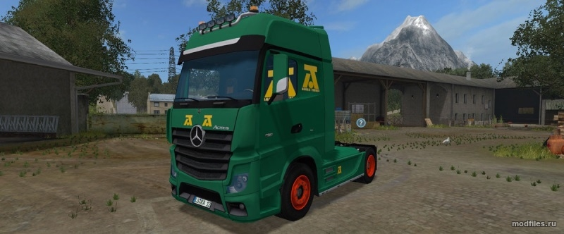 Мод Mercedes-Benz Actros MP4 | 1.1 Dylan Stites | Farming Simulator 2017