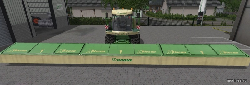 Мод Krone X Disc 6200 | 1.0 Dimanix | Farming Simulator 2017