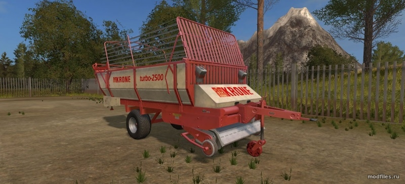 Мод Krone Turbo 2500 | 1.0 Fiblack46 | Farming Simulator 2017
