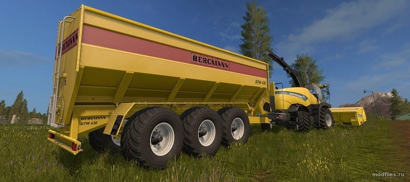 Мод Bergmann GTW 430 | 1.0 Endless Dark | Farming Simulator 2017