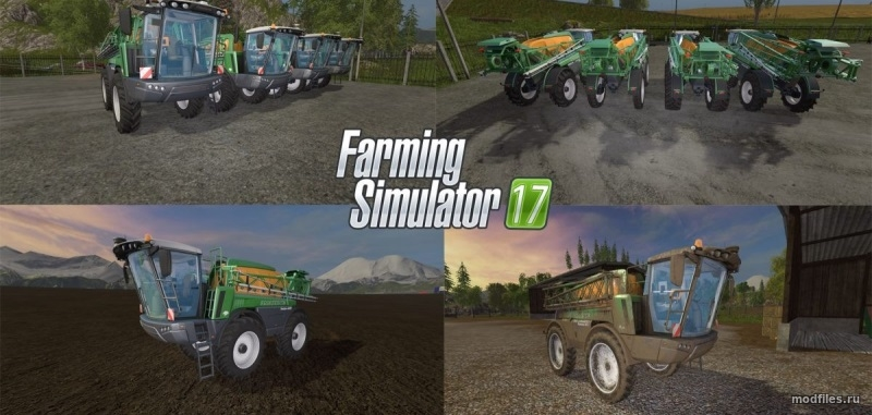 Мод AMAZONE Pantera | 1.0 Real Farmer Tom | Farming Simulator 2017