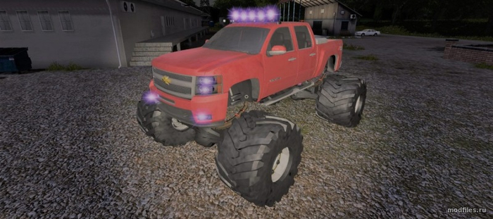 Chevy MUD TRUCK / Rambow145