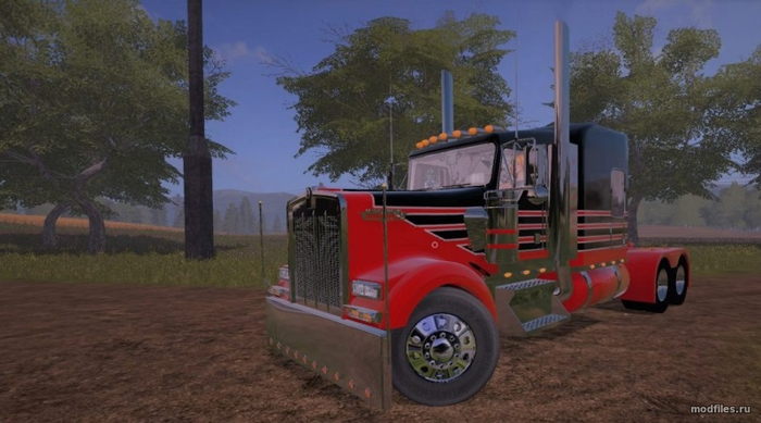 Kenworth W900 LFT / Thunderhawk Modding