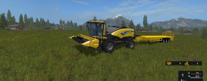 New Holland Power Baler / Bobje