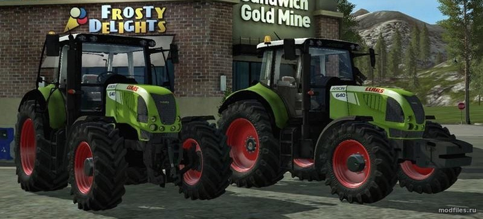 Claas Arion 640 / DEMODDING