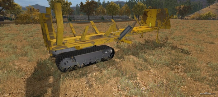 Tracked Wood Slasher / Rambow145