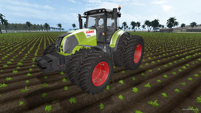 Claas Axion 800 / gazo