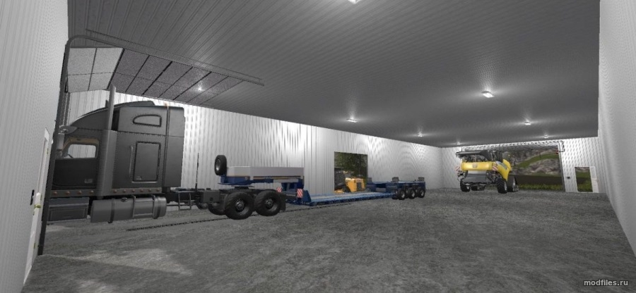Machine Shed - 100x50 (functional) / SickleBandit