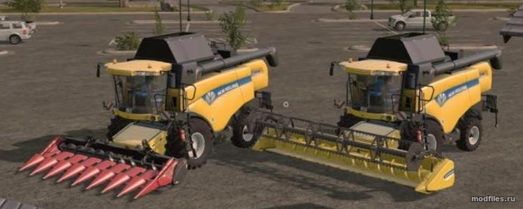 New Holland CX пак / RraptorR Modding