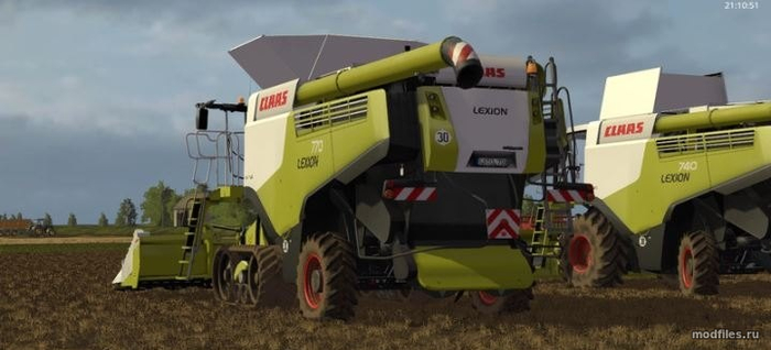 Claas Lexion 700 STAGE IV Pack Rus / Dragon-tis