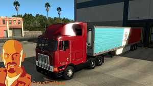 Мод International 9800 Eagle (1.0 Kriechbaum) American Truck Simulator