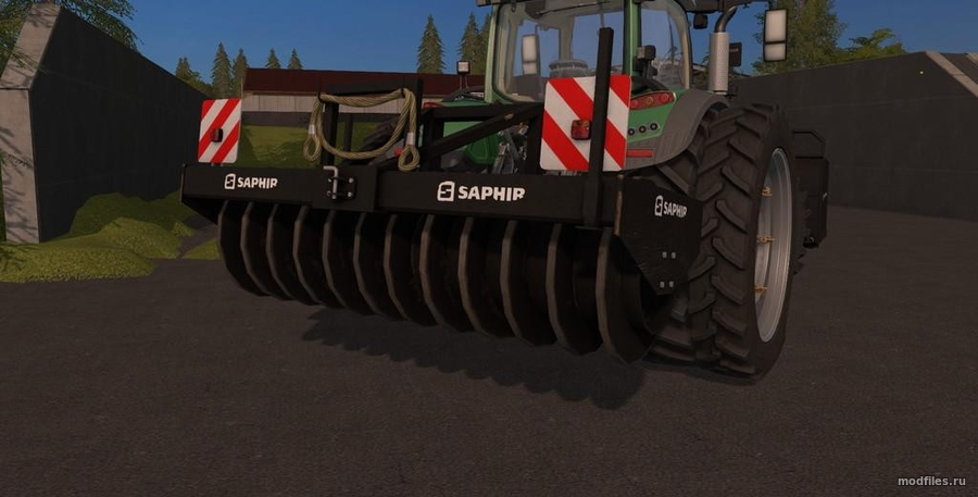 Мод SAPHIR SILAGE пак (1.0 NKB-Modding) для Farming Simulator 2017