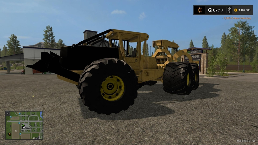 Мод GRAPPLE SKIDER (1.1 Adcrafter27) Farming Simulator 2017