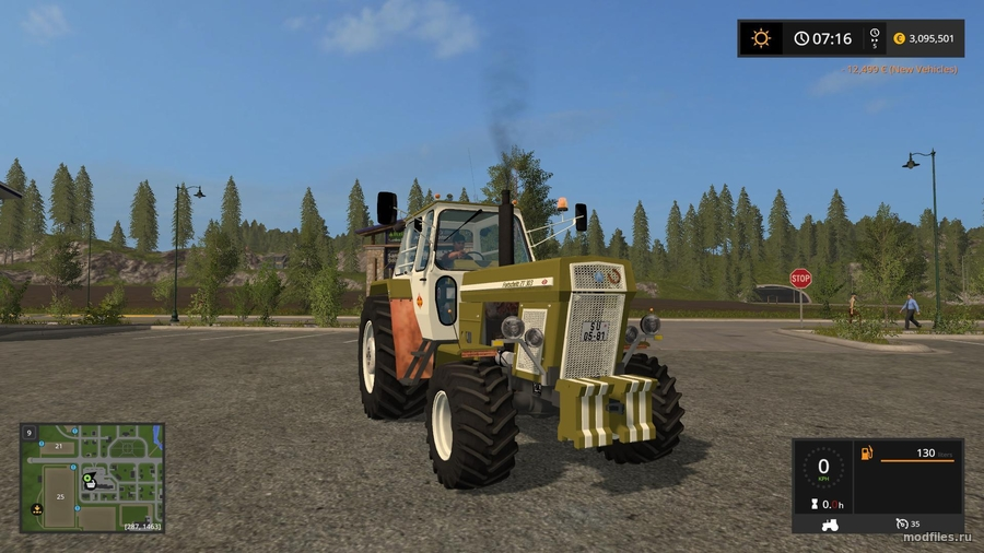 Мод ZT303 Siena (02.07.2017 ADOLF) Farming Simulator 2017