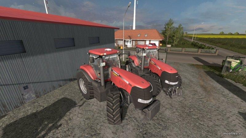Мод CASE MAGNUM 335 (2.3 Virtueller_farmer) Farming Simulator 2017
