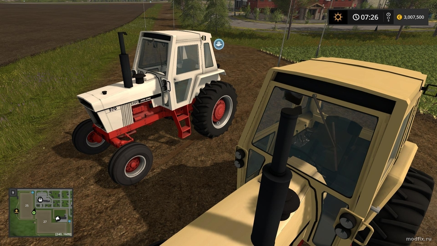 Мод CASE 70 Series (1.1 Oldiron1214) Farming Simulator 2017