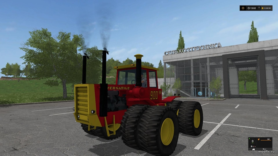 Мод Versatile 900 Articulated 4WD (1.0 Oldiron1214) Farming Simulator 2017