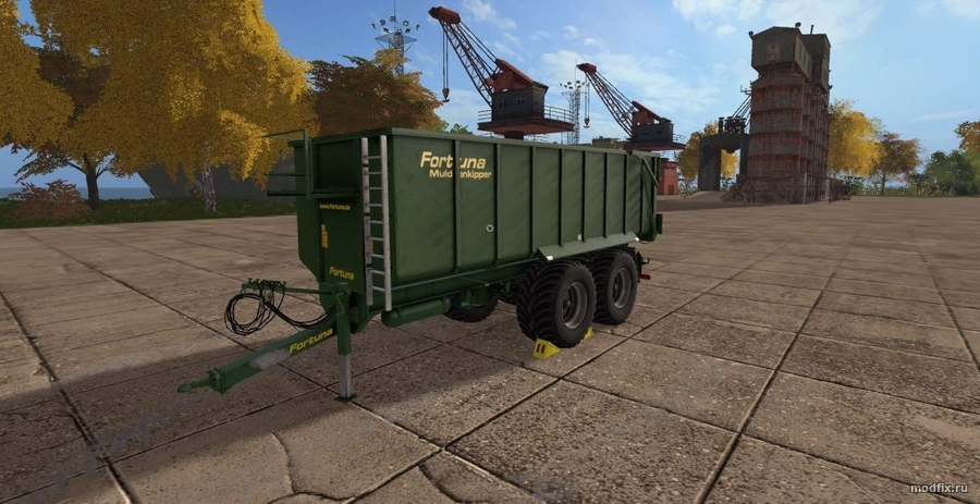 Мод FORTUNA FTM 200 (1.0 BM-Modding) для Farming Simulator 2017