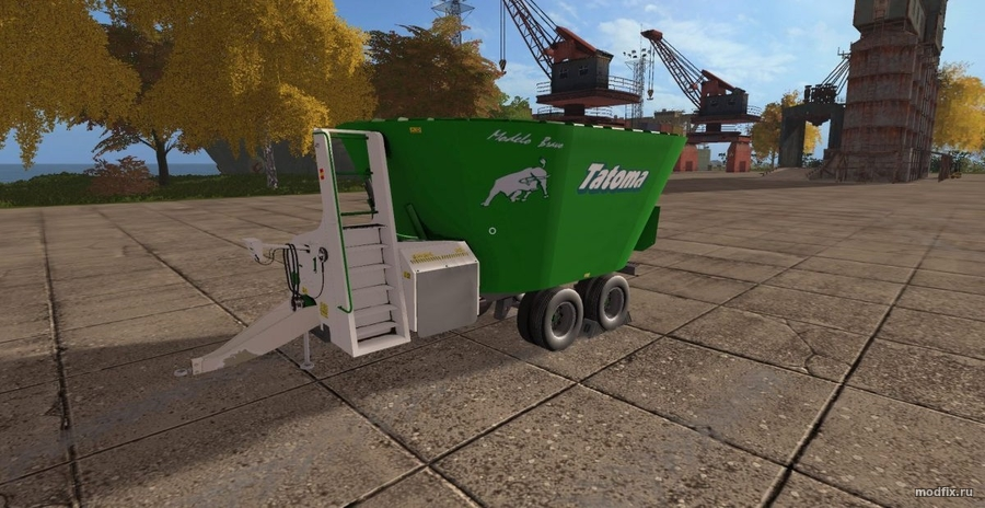 Мод Feraboli Overmix 2TH-21 CCM (1.0 SAZ Modding) Farming Simulator 2017