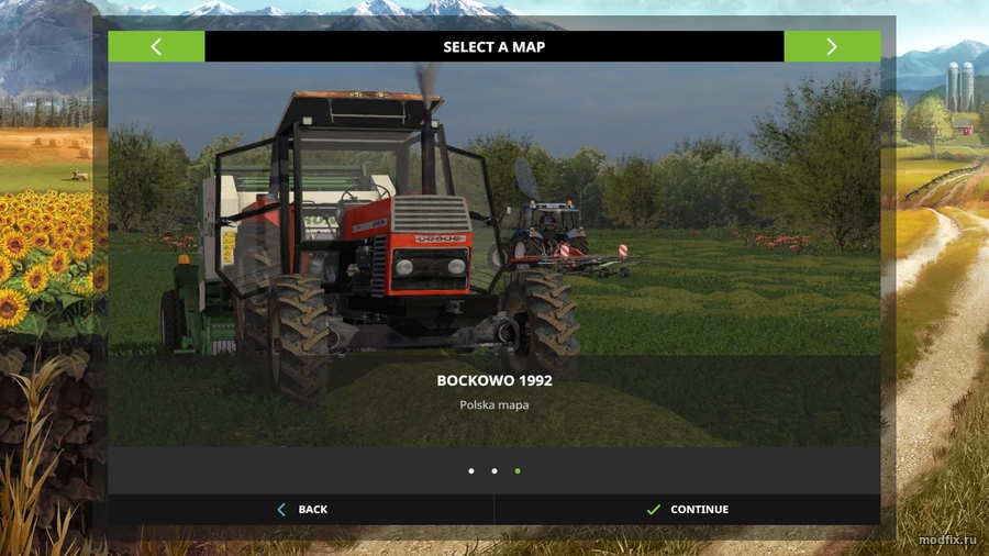 Мод BOCKOWO 1992 (1.0 Michal games) Farming Simulator 2017