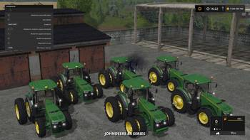 John Deere 8R Series / TechMod