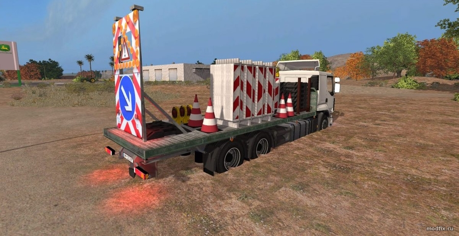 Placeable Traffic Truck