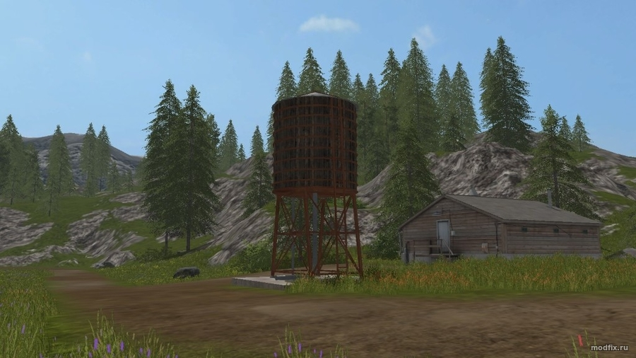 Мод Water Tower (1.0 Mappers Paradise) для Farming Simulator 2017