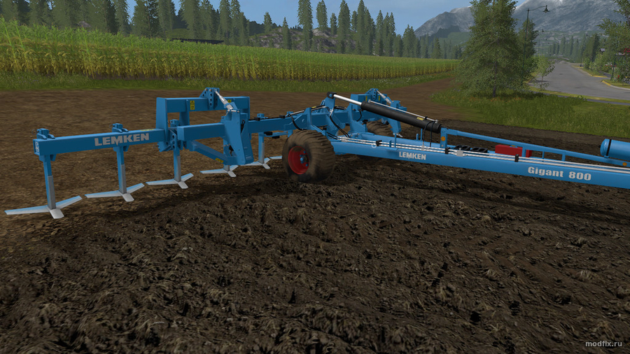 Мод Lemken Dolomit (2.8 ImpTS) Farming Simulator 2017