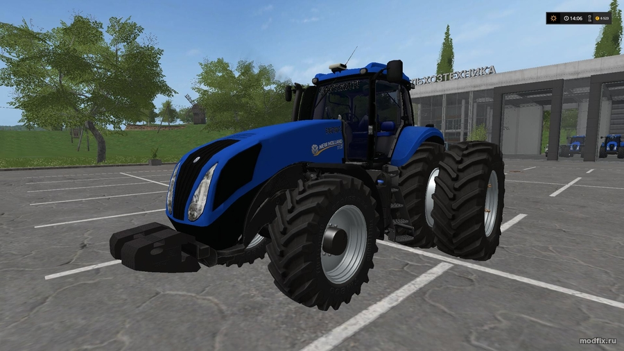 Мод New Holland T8 (3.5 Agricultor-Fs) Farming Simulator 2017