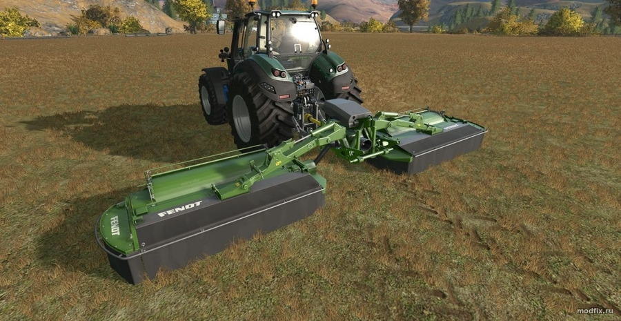 Мод FENDT BUTTERFLY (1.0 Südtirolerbauer) Farming Simulator 2017