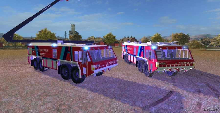 AIRFIELD FIRE TRUCKS