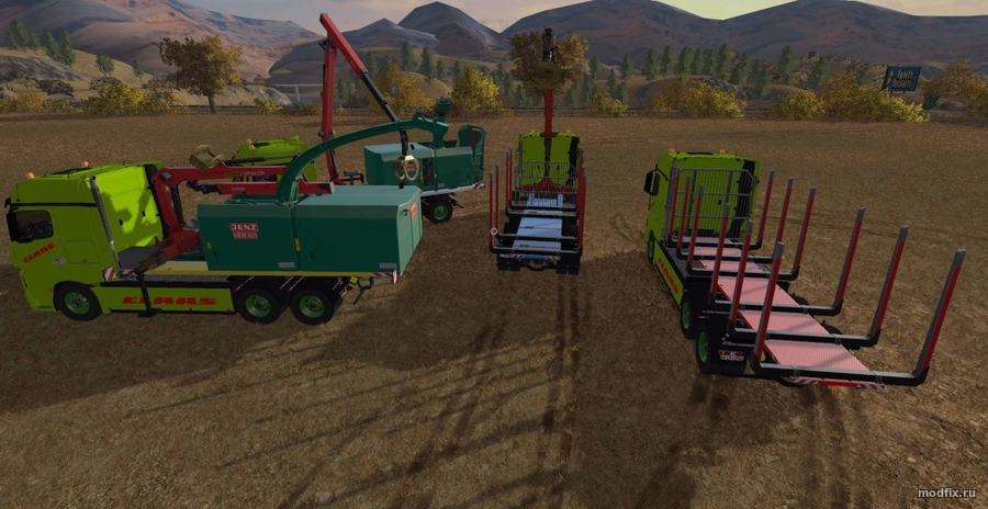 Мод FOREST EXTENSION AR пак (2.4.9 Cougii) Farming Simulator 2017