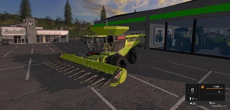 Мод Claas Lexion 780 Limited Edition (1.0 Martynas) Farming Simulator 2017