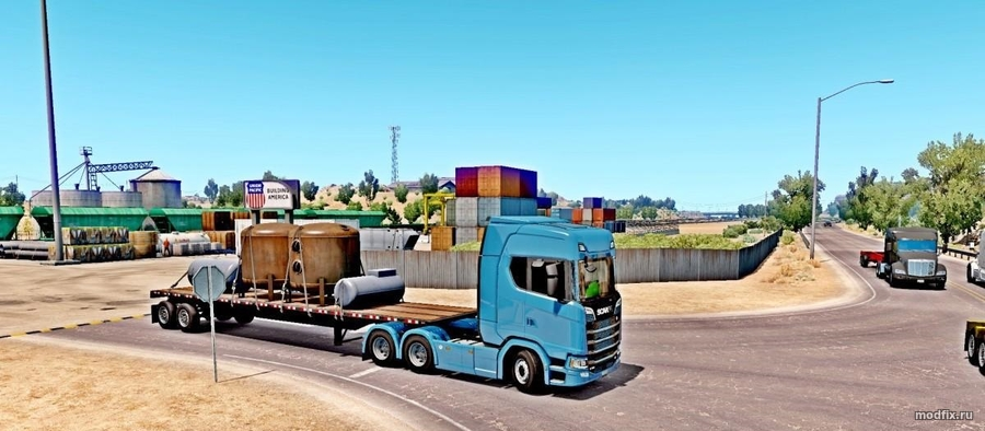 Мод Scania for ATS (17.12.2017 Bobo58) American Truck Simulator