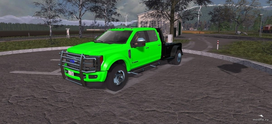 Мод FORD F450 (1.2 JRD84) Farming Simulator 2017