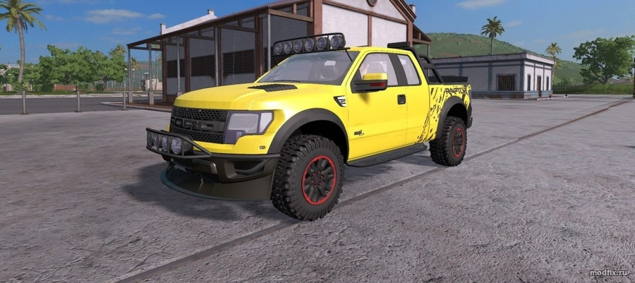 Мод FORD F-150 RAPTOR 2012 (1.0 Vegueta) Farming Simulator 2017