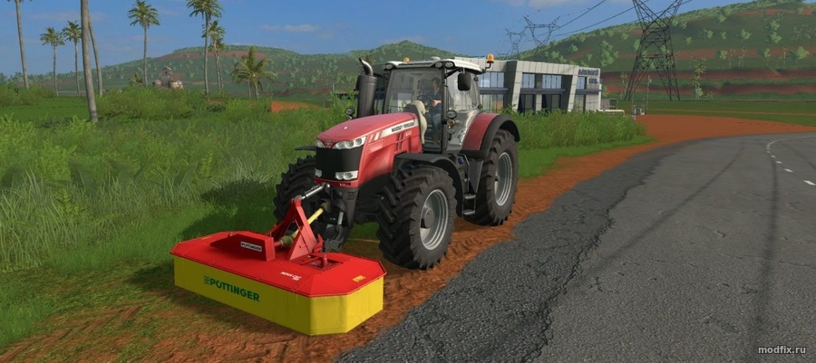 Мод POETTINGER NOVA CAT 260 (1.0.1 Dracko36) Farming Simulator 2017