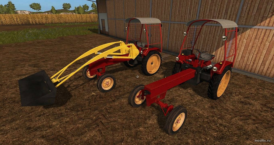Мод GT124 и Attachments (1.0 OSTMODDING-FREUNDEN) Farming Simulator 2017