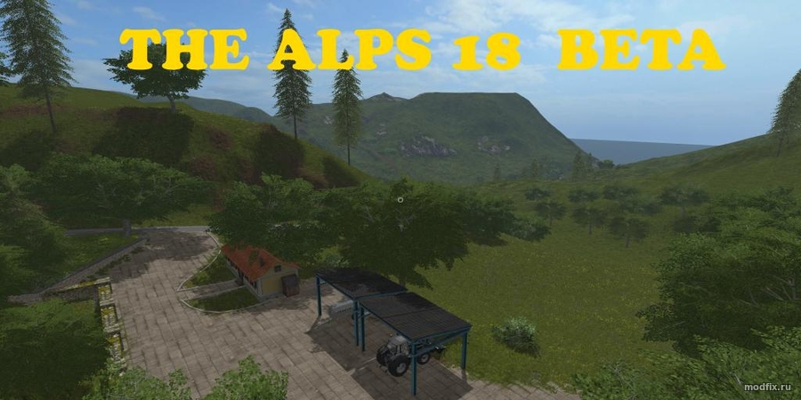 Мод THE ALPS 18 (1.0 TheSnake) Farming Simulator 2017