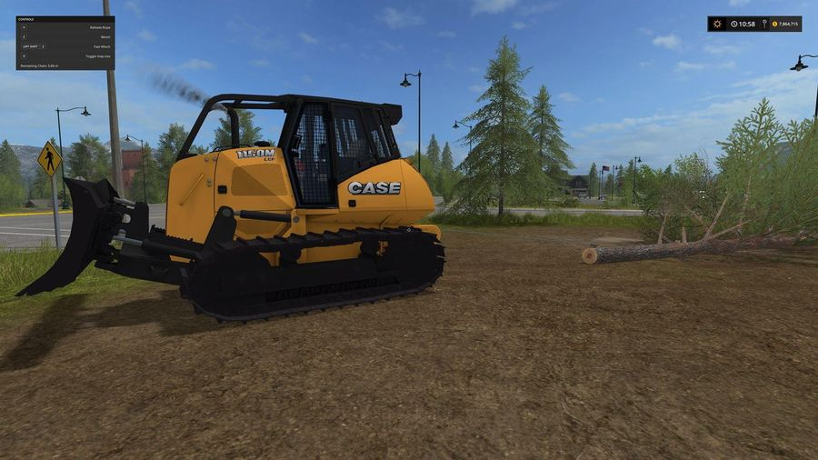 CASE 1150M Forestry