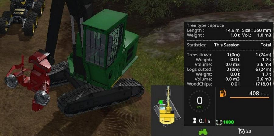 Wood Harvester Tree Info