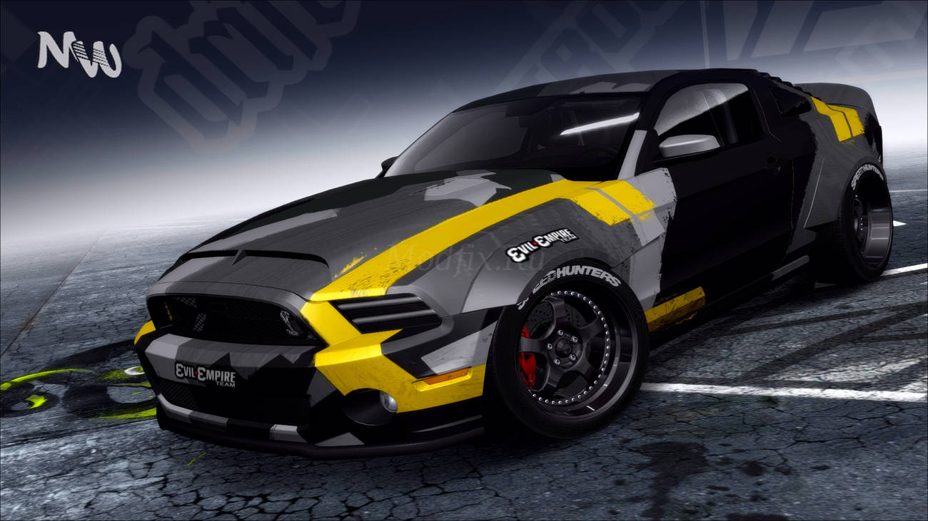 Картинка мода Ford Mustang Shelby GT500 2013 / Michael Werd в игре NFS ProStreet