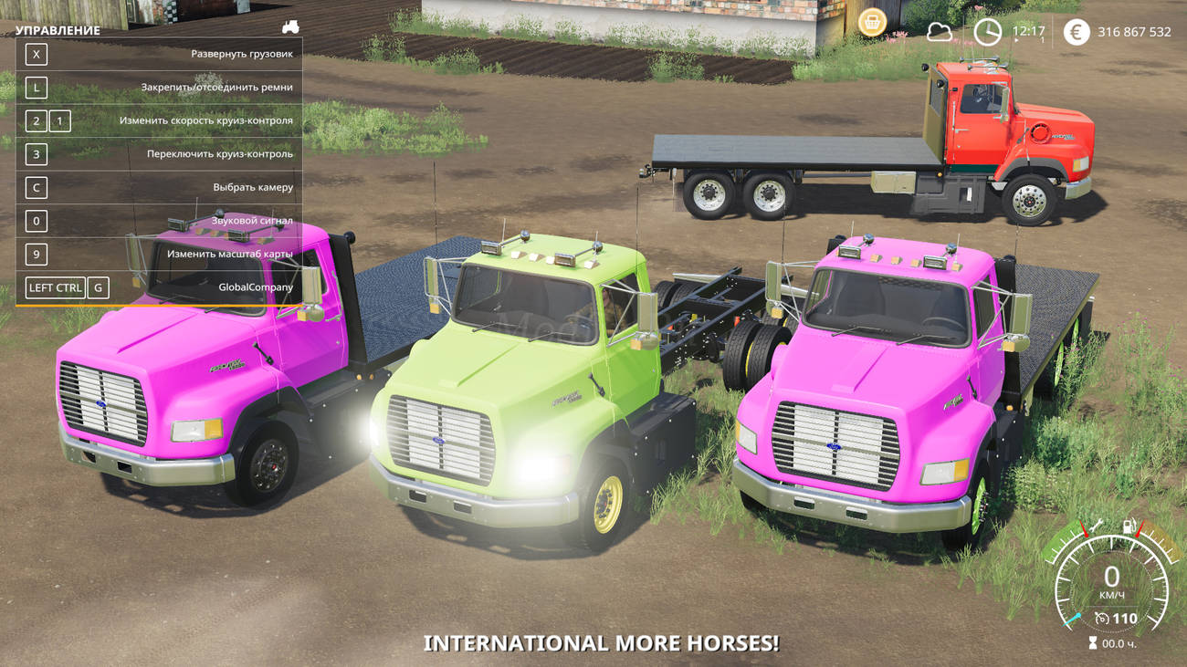 Картинка мода Ford L9000 Grain / Expendables в игре Farming Simulator 2019